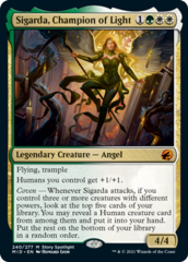 Sigarda, Champion of Light - Foil