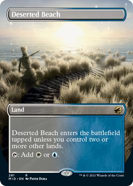 Deserted Beach - Borderless