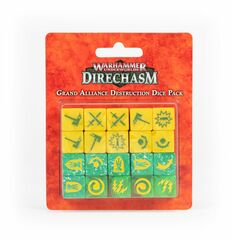 Direchasm - Grand Alliance: Destruction Dice Pack