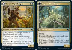 Devoted Grafkeeper // Departed Soulkeeper - Foil