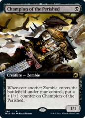 Champion of the Perished - Foil - Extended Art
