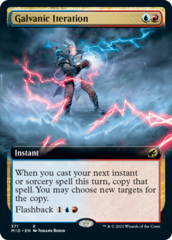 Galvanic Iteration - Foil - Extended Art