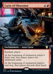Curse of Obsession - Extended Art
