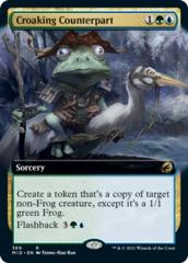 Croaking Counterpart - Foil - Extended Art