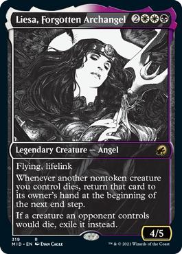 Liesa, Forgotten Archangel - Foil - Showcase