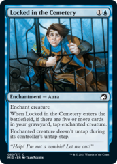 Locked in the Cemetery - Foil