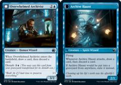 Overwhelmed Archivist // Archive Haunt - Foil