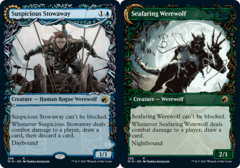 Suspicious Stowaway // Seafaring Werewolf - Foil - Showcase