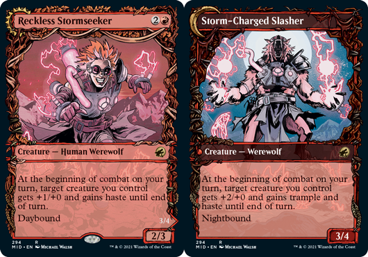 Reckless Stormseeker // Storm-Charged Slasher - Showcase