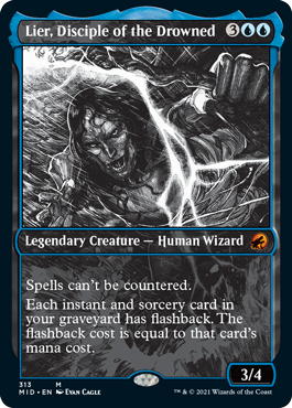 Lier, Disciple of the Drowned - Foil - Showcase