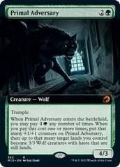 Primal Adversary - Extended Art