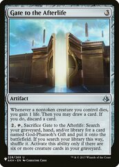 Gate to the Afterlife - The List