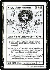 Kaya, Ghost Haunter - The List