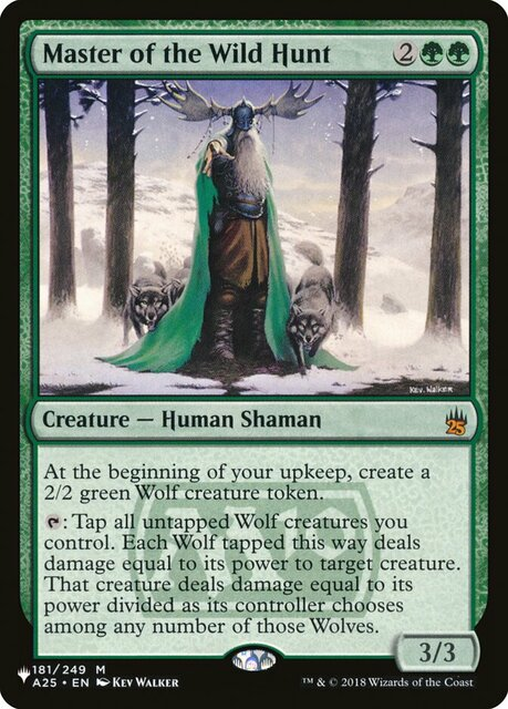 Master of the Wild Hunt - The List