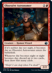 Obsessive Astronomer - Foil