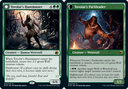 Tovolars Huntmaster // Tovolars Packleader - Foil
