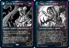Ludevic, Necrogenius // Olag, Ludevic's Hubris - Showcase