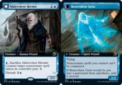 Malevolent Hermit // Benevolent Geist - Extended Art