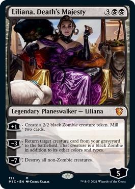 Liliana, Deaths Majesty