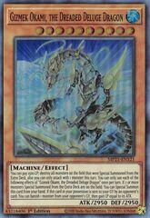 Gizmek Okami, the Dreaded Deluge Dragon - MP21-EN121 - Super Rare - 1st Edition