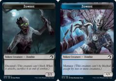 Zombie Token (005) // Zombie Token (015) - Foil
