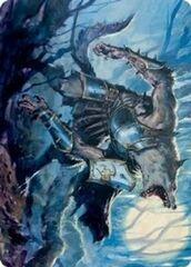 Moonrage Brute Art Card