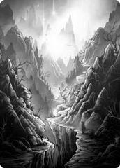 Mountain Art Card