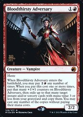Bloodthirsty Adversary - Foil - Prerelease Promo