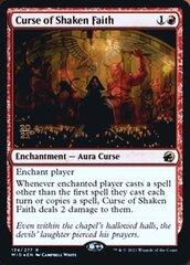 Curse of Shaken Faith - Foil - Prerelease Promo