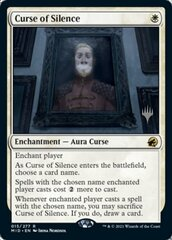Curse of Silence - Promo Pack