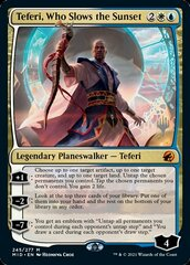 Teferi, Who Slows the Sunset - Foil - Promo Pack