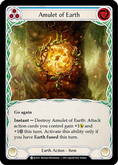 Amulet of Earth - 1st Edition