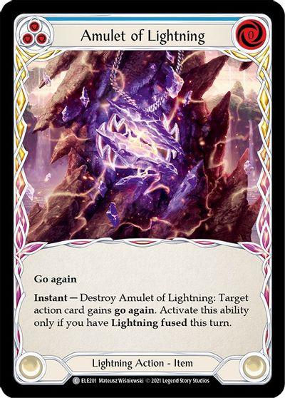 Amulet of Lightning - 1st Edition