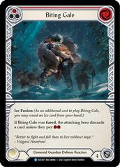 Biting Gale (Red) - Rainbow Foil - 1st Edition