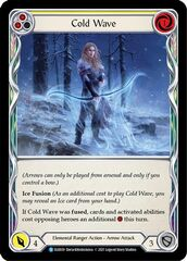 Cold Wave (Yellow) - Rainbow Foil - 1st Edition