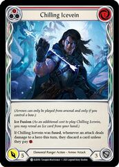 Chilling Icevein (Red) - Rainbow Foil - 1st Edition