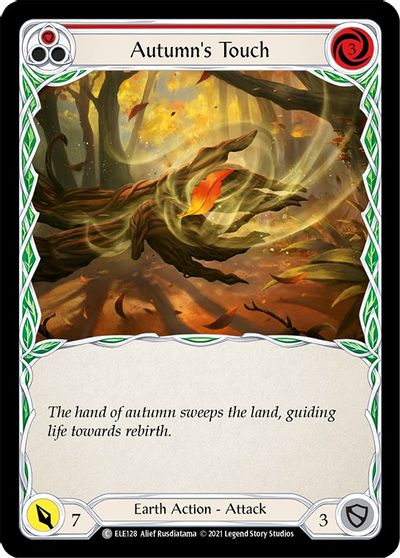 Autumns Touch (Red) - Rainbow Foil - 1st Edition