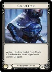 Coat of Frost - Cold Foil - 1st Edition
