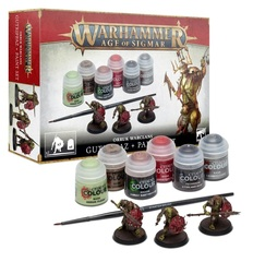 Orruk Warclans - Gutrippaz + Paints Set