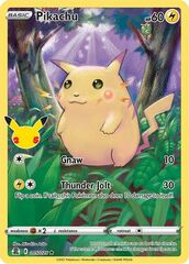 Pikachu - 005/025 - Holo Rare