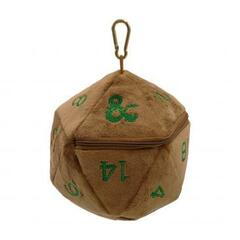 Ultra Pro - Dungeons & Dragons Feywild Copper and Green D20 Dice Bag
