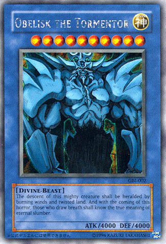 Obelisk the Tormentor - GBI-002 - Secret Rare - Unlimited Edition