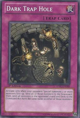 Dark Trap Hole - STBL-EN080 - Common - 1st Edition