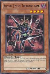 Ally of Justice - Thousand Arms - STBL-EN093 - Common - 1st Edition