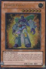 Power Giant - STBL-EN007 - Ultimate Rare - 1st Edition