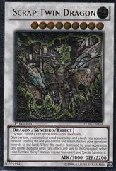 Scrap Twin Dragon - STBL-EN044 - Ultimate Rare - 1st Edition