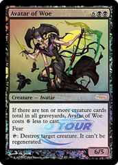 Avatar of Woe (Pro Tour Foil) on Channel Fireball