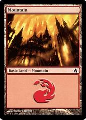 Mountain (34) - Foil on Channel Fireball