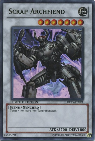 Scrap Archfiend - DREV-ENSP1 - Ultra Rare - Limited Edition
