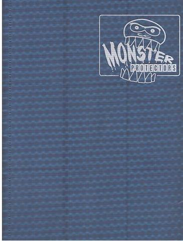 Monster Protectors 9 Pocket Midnight Blue Binder